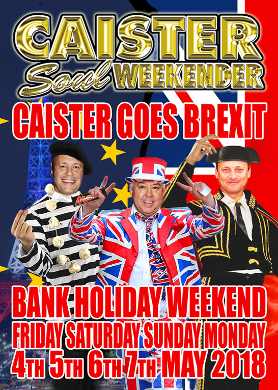 The MAY 2018 Caister Weekender