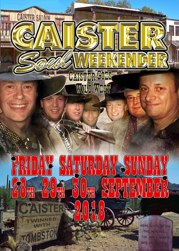 The SEPTEMBER 2018 Caister Weekender