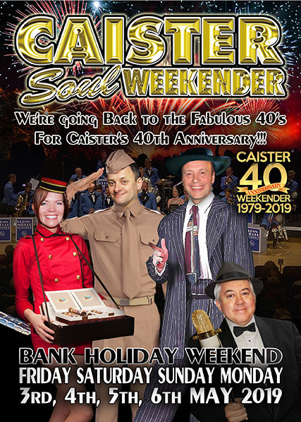The MAY 2019 Caister Weekender