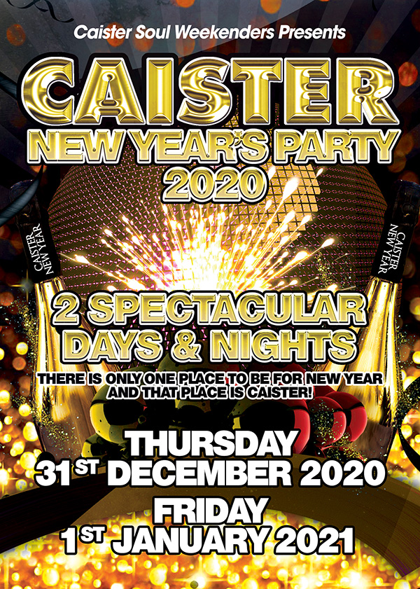 The NYE 2020 Caister Weekender