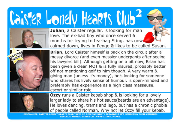 Caister Lonely Hearts 2